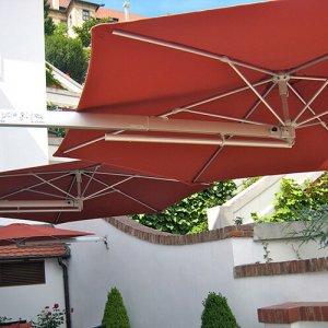P4 parasol de pared Ø250cm