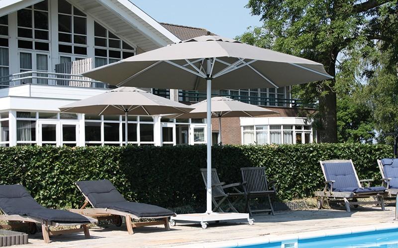Parasoles Para Terrazas Y Sombrillas Para Hosteleria Solero - Sombrillas-para-terrazas